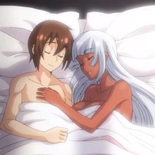 Tatsuya and Liliana asleep.png