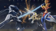 Kibatora fighting Zantetsu