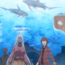 Liliana and Tatsuya in an aquarium.png