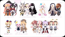 Anime Character Chibis