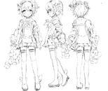 Snow White Manga Design