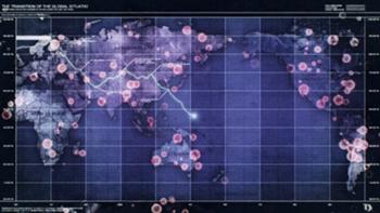The world during World War Three
