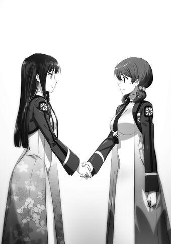 The Irregular At Magic High School Tatsuya And Miyuki Relationship