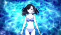 Setsuna Sakurazaki Blue Bikini Mahou Sensei Negima