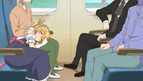 OVA Tohru in Kobayashi's lap 2