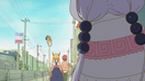 Ep2 Kanna spying on Tohru