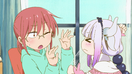 Ep2 Kanna threatening Kobayashi