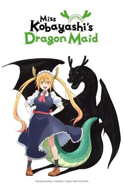 Kobayashi-san Chi no Maid Dragon First Poster.jpg