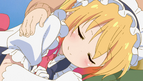 OVA Tohru in Kobayashi's lap