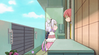 S1E4 Kanna listening to Kobayashi