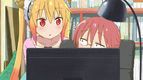 Ep1 Kobayashi teaching Tohru the Internet