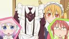Ep3 Tohru finds Kobayashi's maid uniform