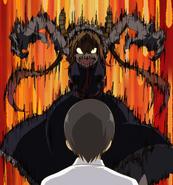 Ep1 Tohru about to attack Takiya