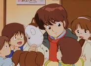 Godai with Kotatsu-Neko mask