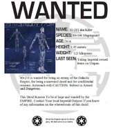 IG-211 Wanted poster