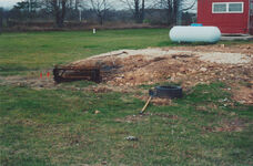 Steven Avery's burn pit