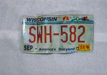 Toyota RAV4 license plates