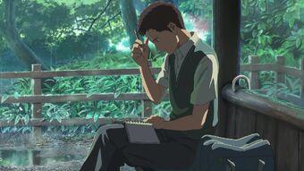 The Garden Of Words Makoto Shinkai Wiki Fandom