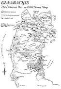 Map Genabackis