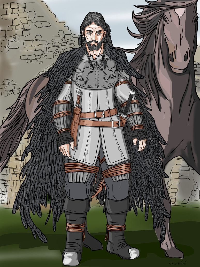 Coltaine of the wickan crow clan by luztheren.jpg