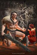 Karsa fan art cover by Daniel Knoblich