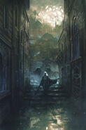 Toll the Hounds Cover II by Marc Simonetti