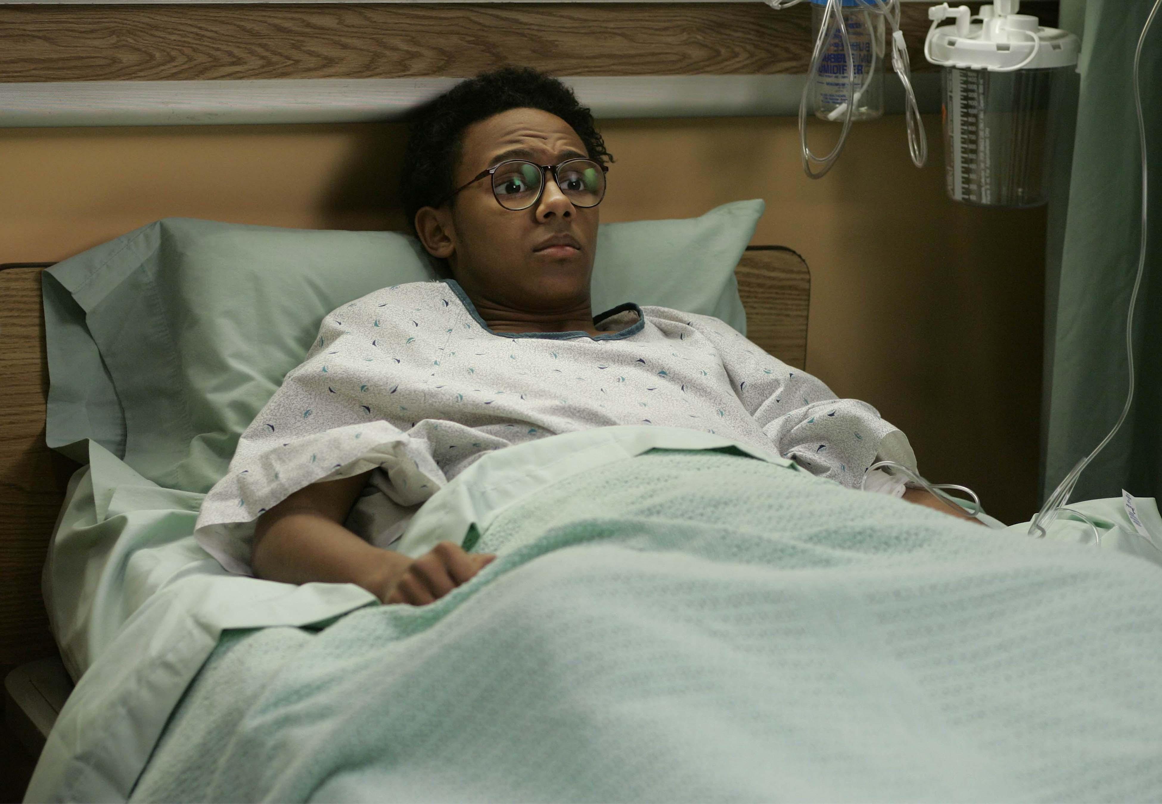 Stevie in the Hospital