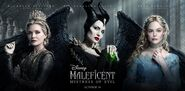 Maleficent Mistress of Evil triptych poster