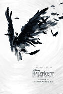 Maleficent Mistress of Evil Real 3D Poster