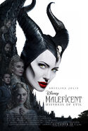 Maleficent Mistress of Evil Theatrical Poster