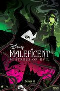 Maleficent Mistress of Evil Mike Mahle Poster
