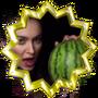 Gradually watermelon!