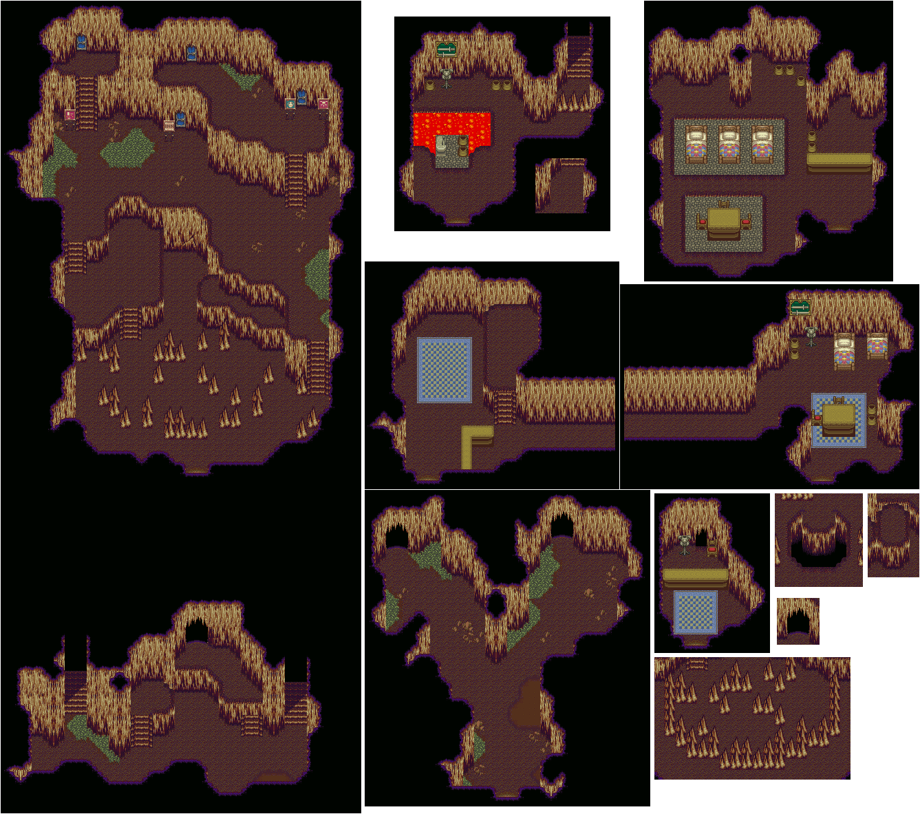 Dwarf Village (Secret of Mana)