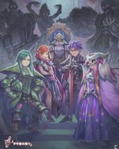 Secret of Mana Remake - Emperor Vandole and his generals