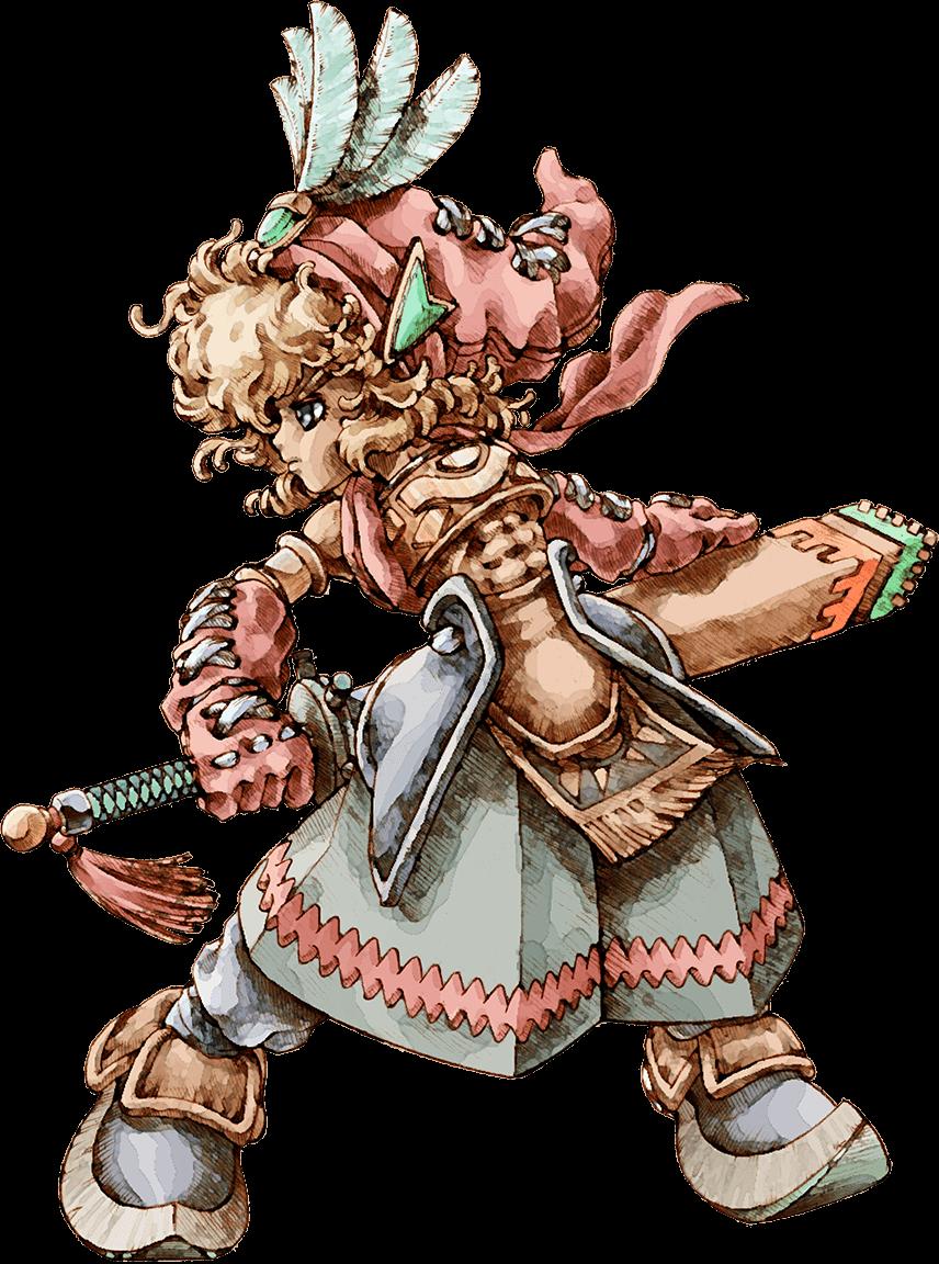 Hero/Heroine (Legend of Mana)