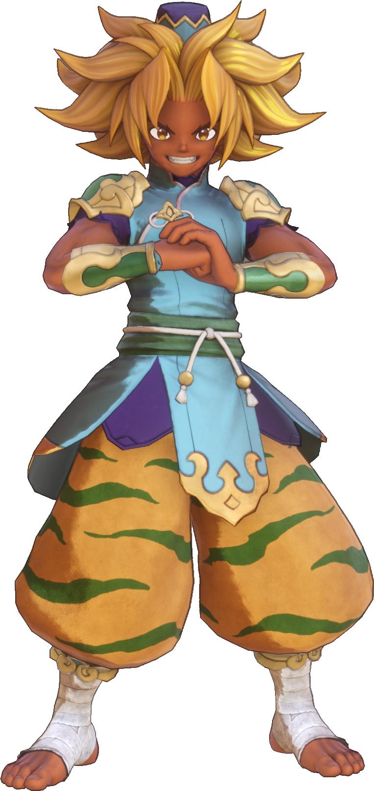 Warrior Monk (Trials of Mana)