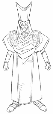 Concept art of the Masked Mage in ToM