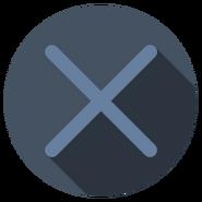 PS Cross Icon