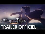 L'Attaque des Titans Saison Finale - Trailer Officiel