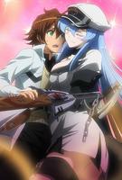 Tatsumi y Esdeath