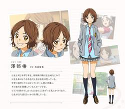 Diseño de Tsubaki en el anime.png