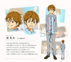 Diseño de Ryota en el anime.png