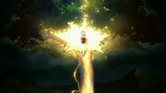 Zenitsu Agatsuma colpito dal fulmine