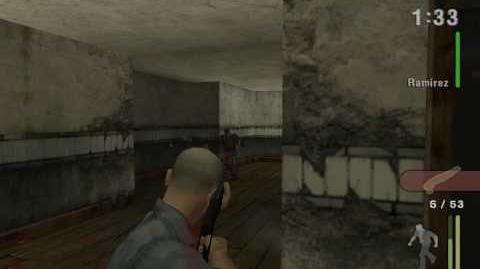 """Manhunt 1"", full walkthrough (Hardcore difficulty), Scene 14 - Divided They Fall, Part 2 2"