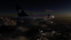 The plane crashed