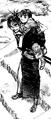 Manji and Rin piggyback
