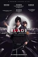 Blade of the Immortal Poster 2
