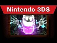 Nintendo 3DS - Luigi's Mansion- Dark Moon Launch Trailer