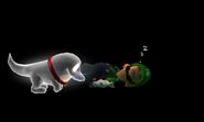 Polterpup and Luigi