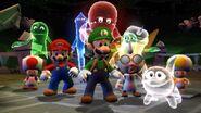 Luigi & Friends Posing